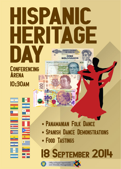 Hispanic Heritage Day Poster