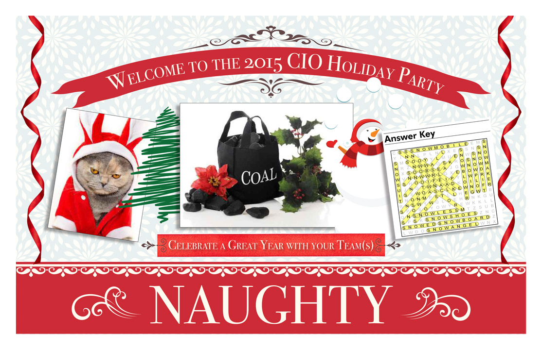 Holiday Placemat - Back