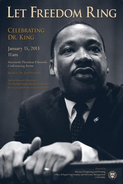 MLK Celebration Poster
